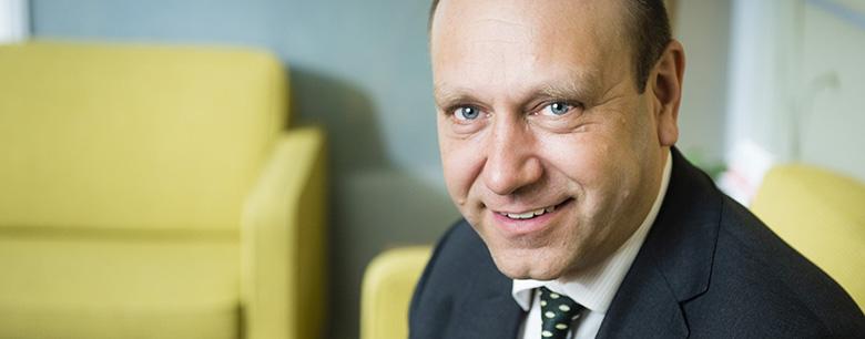 Jaakko Kangasniemi CEO Finnfund