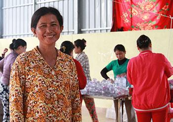 Prasac microfinance Cambodia